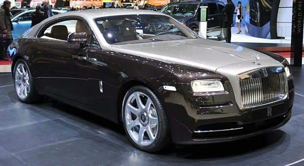 Rolls Royce Wraith Reviews 2014 front view