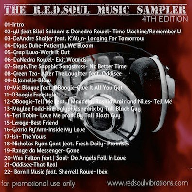 The R.E.D.SOUL Music Sampler 4th Edition