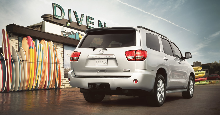 2011 Toyota Sequoia rear