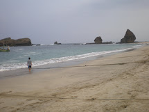 Beach Of Indonesia Papuma