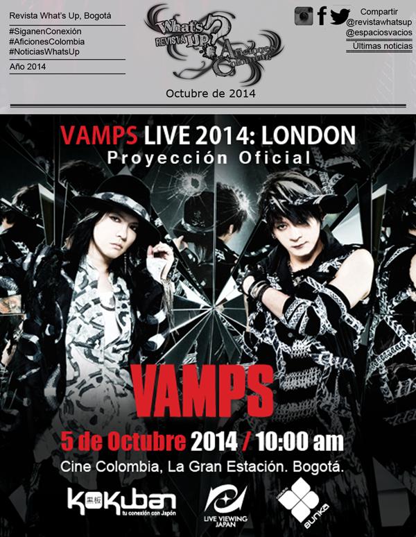 VAMPS-LIVE-2014-LONDON-Proyección-Oficial