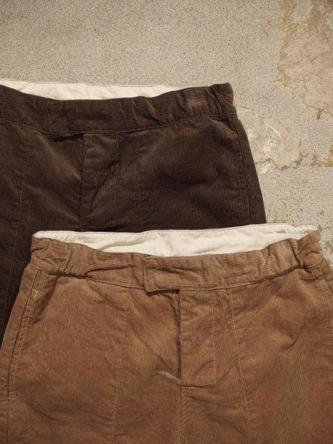 Engineered Garments Rugby Short-14W Corduroy Spring/Summer 2015 SUNRISE MARKET