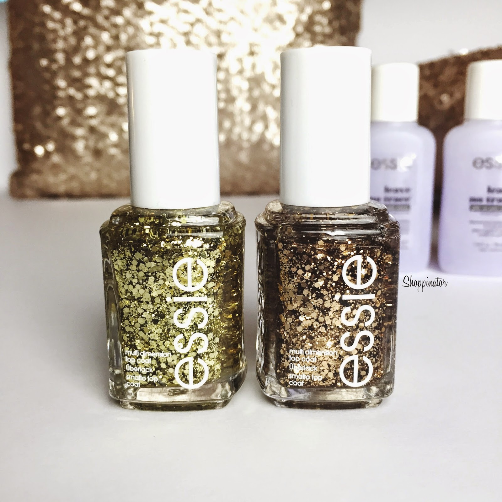 Essie Luxeffects 'Rock at the top' & 'Summit of Style' – Swatches