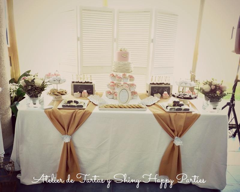 Shiny happy parties mallorca mesa dulce nupcial tu for Mesa de dulces para boda