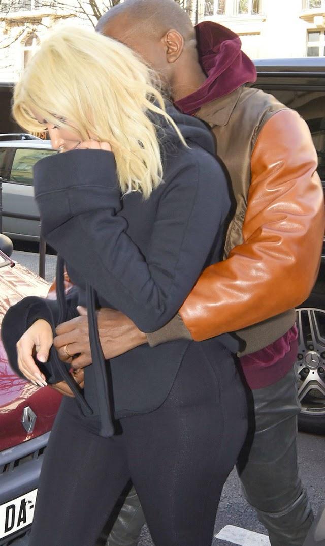 Kim Kardashian y Kanye West sexo en la calle