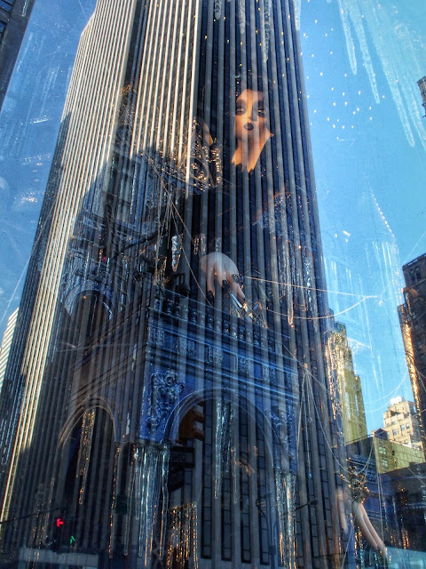 Halloween on Ice, #BGWindows, #5thavenuewindows, New York City