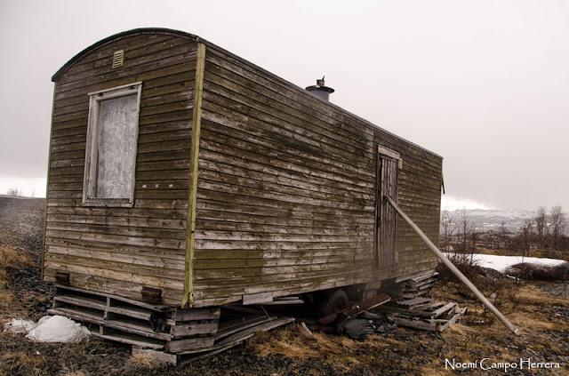 caravana abandonada