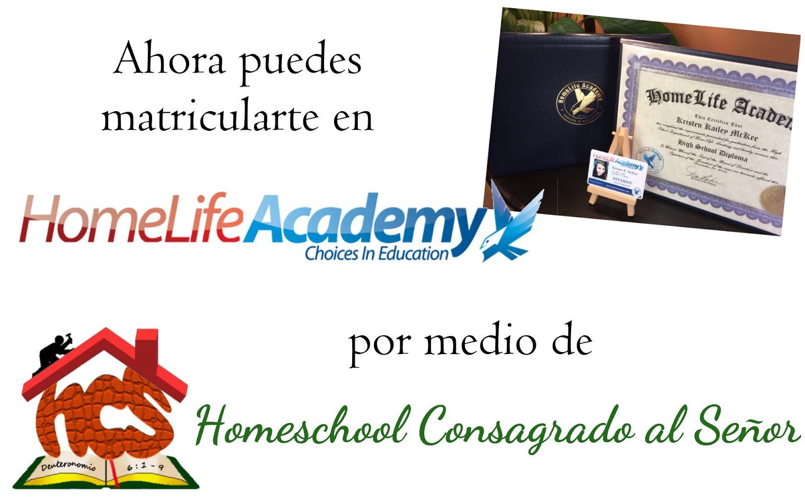 Convenio con HomeLife Academy