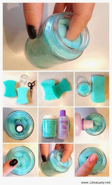 como quitarse la pintura de uñas