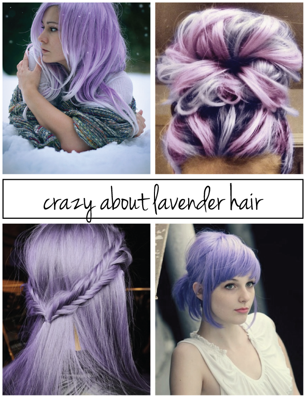 Not Without Heels: Crazy About Lavender Hair