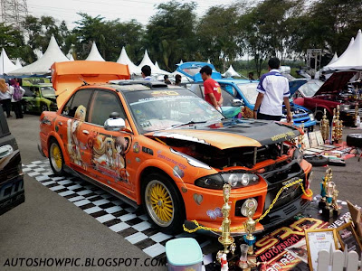 Modified Wira Evo 3 bodykit