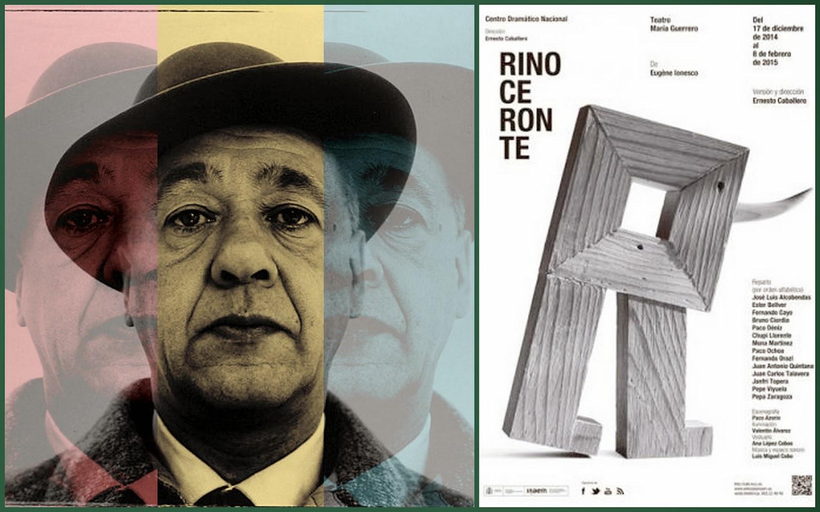 Ernesto Caballero, Rinocéros, Ionesco, Pepe Viyuela