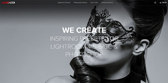 Lookfilter - 10 Sites to Get  Useful Photoshop Actions
