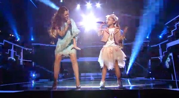 Johana y Vanesa cantan Believe
