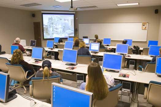 Modern Computer Classroom ~ Pop culture report