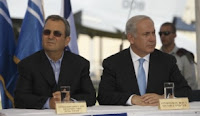 Defense Minister Ehud Barak and Prime Minister Benjamin Netanyahu
