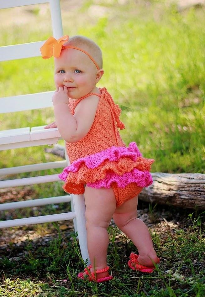 Crochet Dreamz: Baby Sun Suit Romper Crochet Pattern, Pdf ...