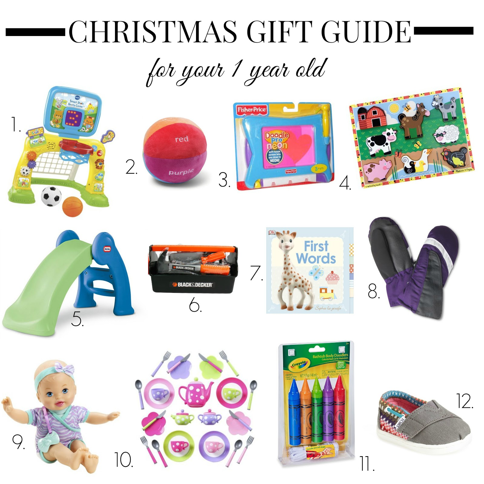 Christmas Gift Ideas For A 2 Year Old