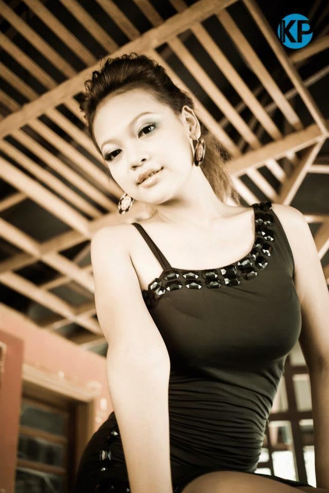Miss Myanmar Nang Khin Zayar in Stunning Black Fashion Photoshoot