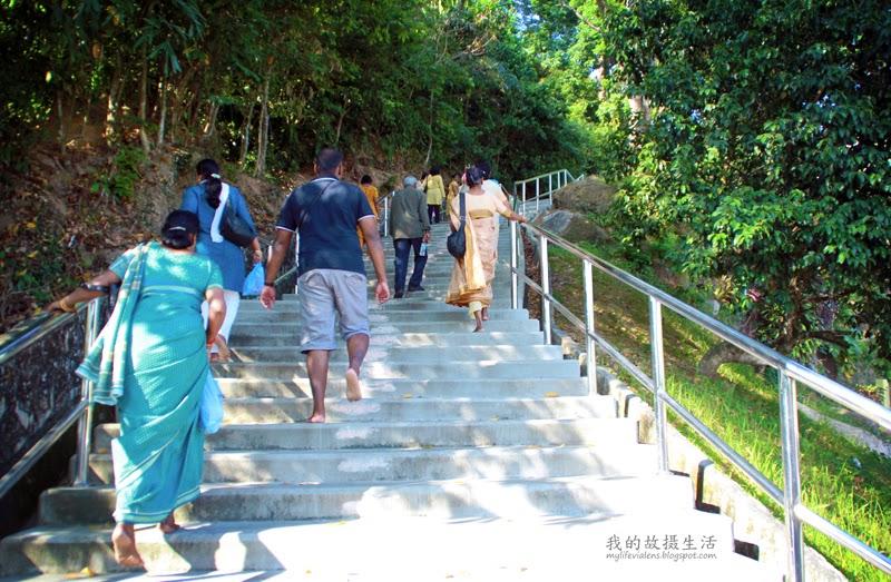 Waterfall Temple Penang