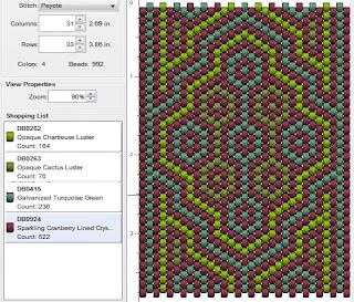 free peyote stitch pattern