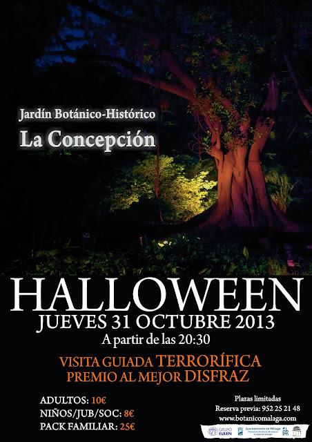 Halloween en La Concepción, Málaga
