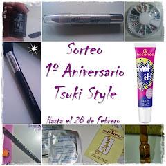 Sorteo 1º Aniversario Tsuki Style