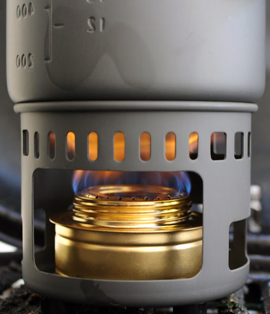 Esbit 5-Piece Trekking Cook Set - Full Flame From Burner