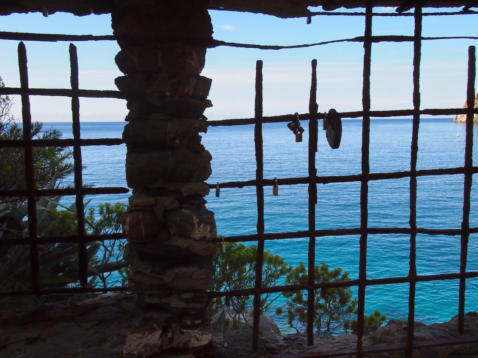 View to Punta Mesco in Cinque Terre