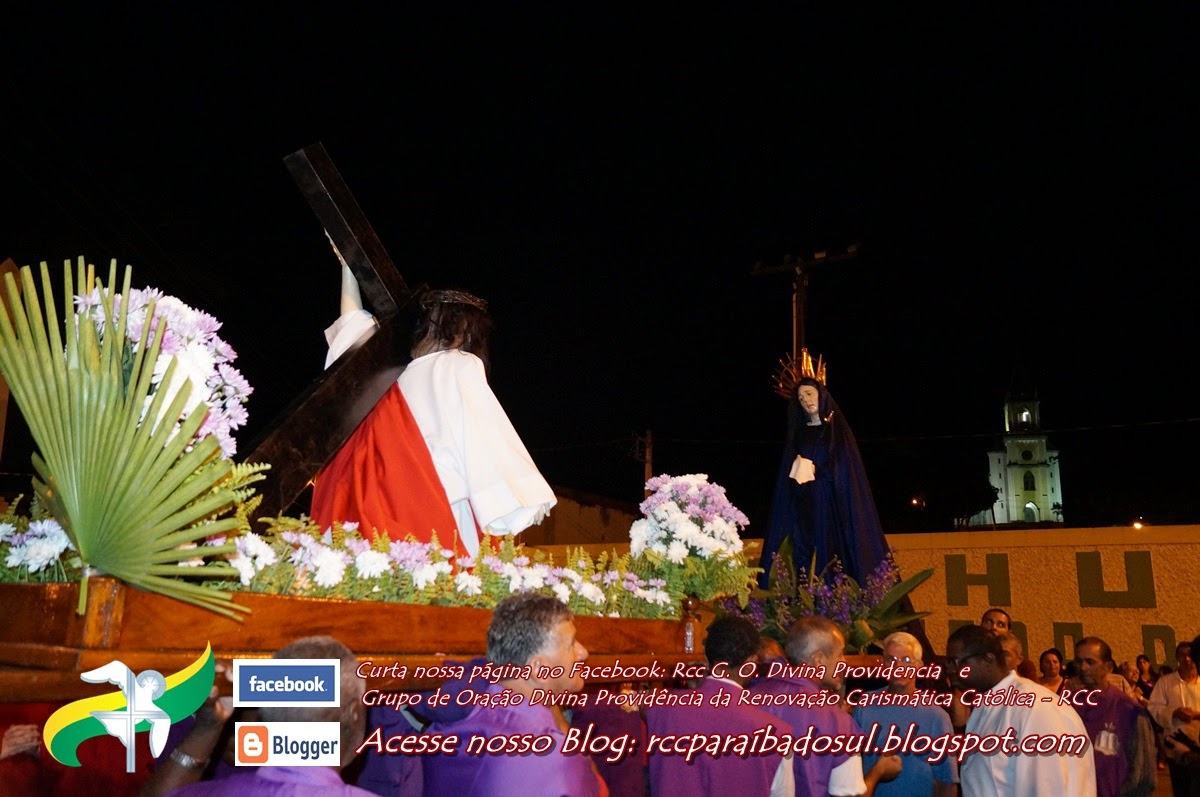 Quarta feira Santa 2014: Missa e procissão do Encontro