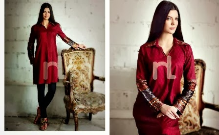 2014 PRET Dresses Of Nishat-Linen