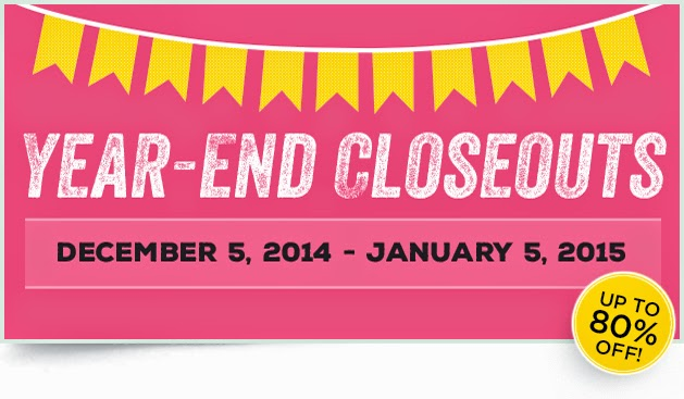 Year End Close Out Deals available at www.bekka.stampinup.net