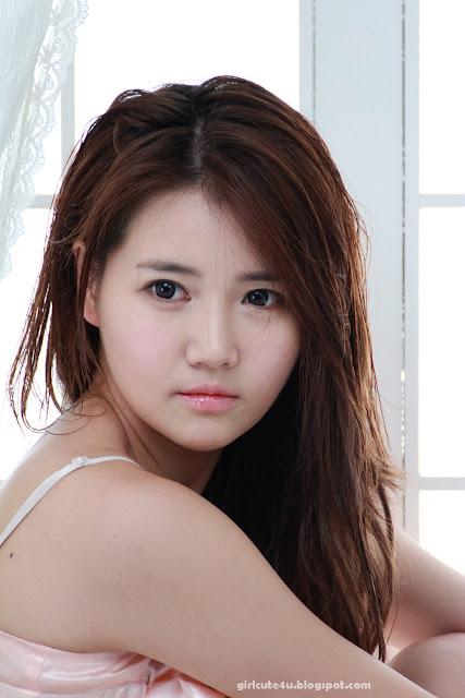 Han-Ga-Eun-Peach-Nightie-10-very cute asian girl-girlcute4u.blogspot.com