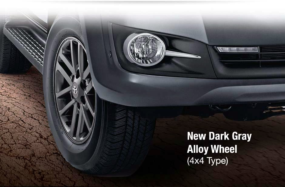 New Alloy Wheel Fortuner 2014