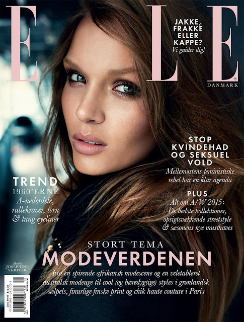 Model @ Josephine Skriver By Henrik BüLow For Elle Denmark, October 2015