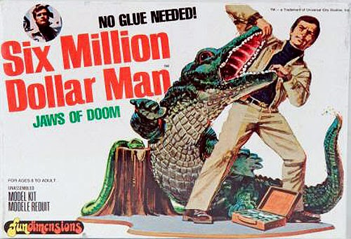 space1970: My SIX MILLION DOLLAR MAN Models