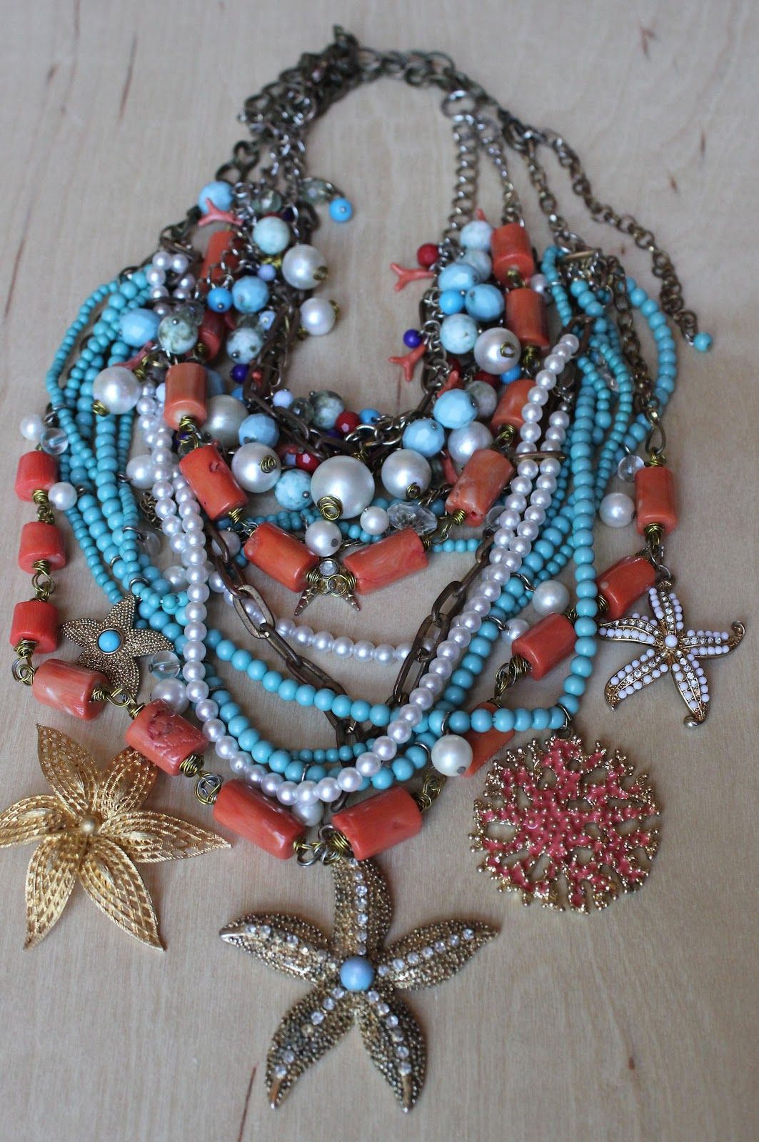 Tamera Beardsley Diy Semi Homemade Necklace
