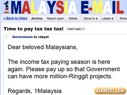 1malaysia email tax