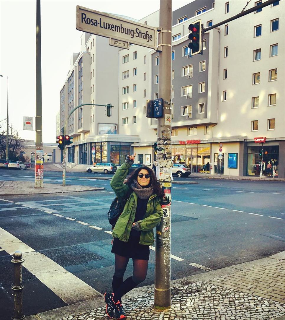 ON ROSA LUXEMBURG STREET