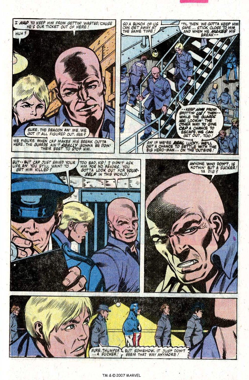 Captain America (1968) Issue #260 #175 - English 25