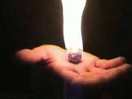 Fazendo uma Bola de fogo que não queima a mão