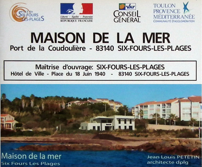 Le blog de la coudouli re les travaux en 2013 au port de la coudouli re - Maison de la mediterranee ...