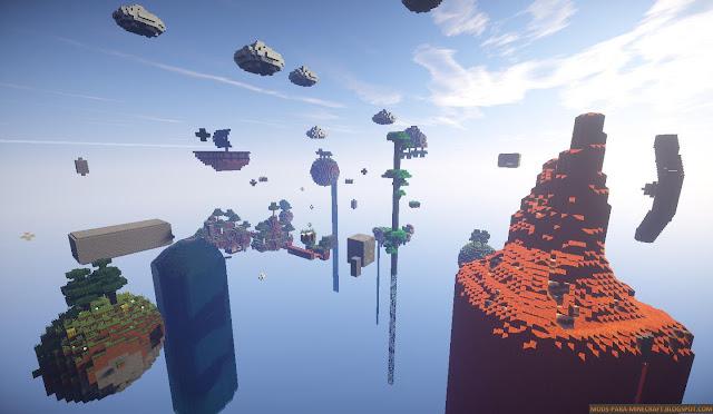 Sky Element Mapa para Minecraft 1.8