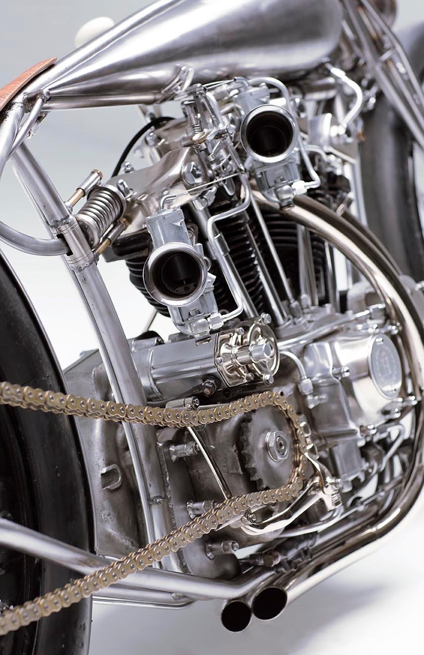 Custom Harley-Davidson Ironhead | Harley-Davidson Ironhead Custom | Custom Harley-Davidson Ironhead by Hanzan Motorworks | Custom Bikes | Custom Harley-Davidson | way2speed.com