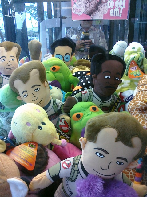 Claw Machine Plush Toys : Ghostbustersmania toys toy factory liscensed plush