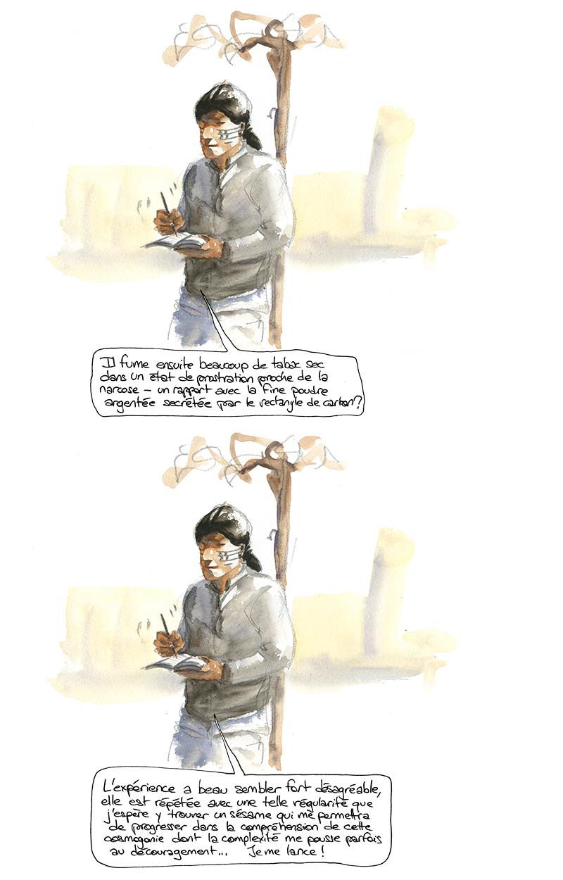 anthropologie des jeux à gratter vu par un Achuar