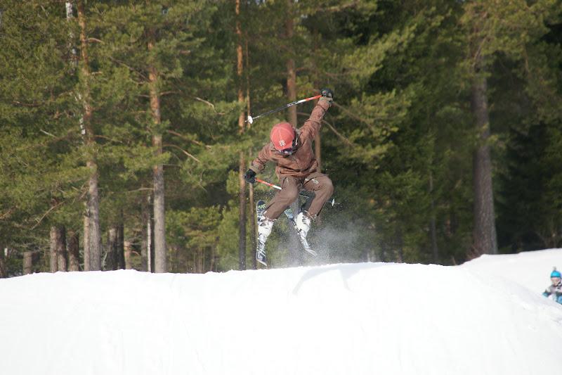 kjekk mann Ski