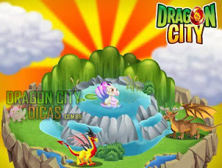 Habitats do Dragon City