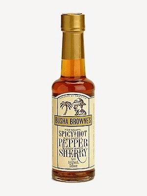 Busha Browne's Spicy Hot Pepper Sherry