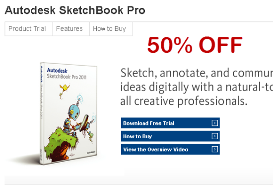 The ultimate digital sketchbook autodesk sketchbook pro paint and